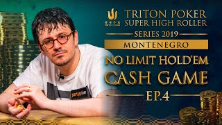 NLH Cash Game Episode 4 - Triton Poker SHR Montenegro 2019