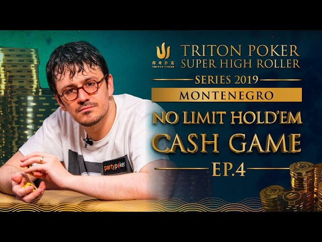NLH Cash Game Episode 4 - Triton Poker SHR Montenegro 2019