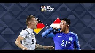 Alemanha 2 x 2 Holanda - Melhores momentos / Nations League 2018