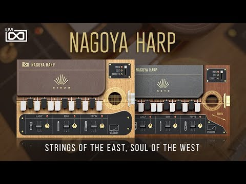 UVI Releases Nagoya Harp : Ask Audio