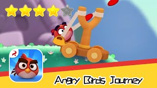 Angry Birds Journey 48 Walkthrough Fling Birds Solve Puzzles Recommend index four stars