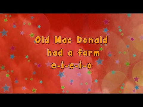 Karaoke - Karaoke - Old Mac Donald