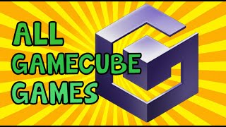 All Gamecube games ever produced (original footage) in HD