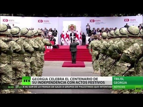 Georgia celebra el centenario de su independencia con actos festivos