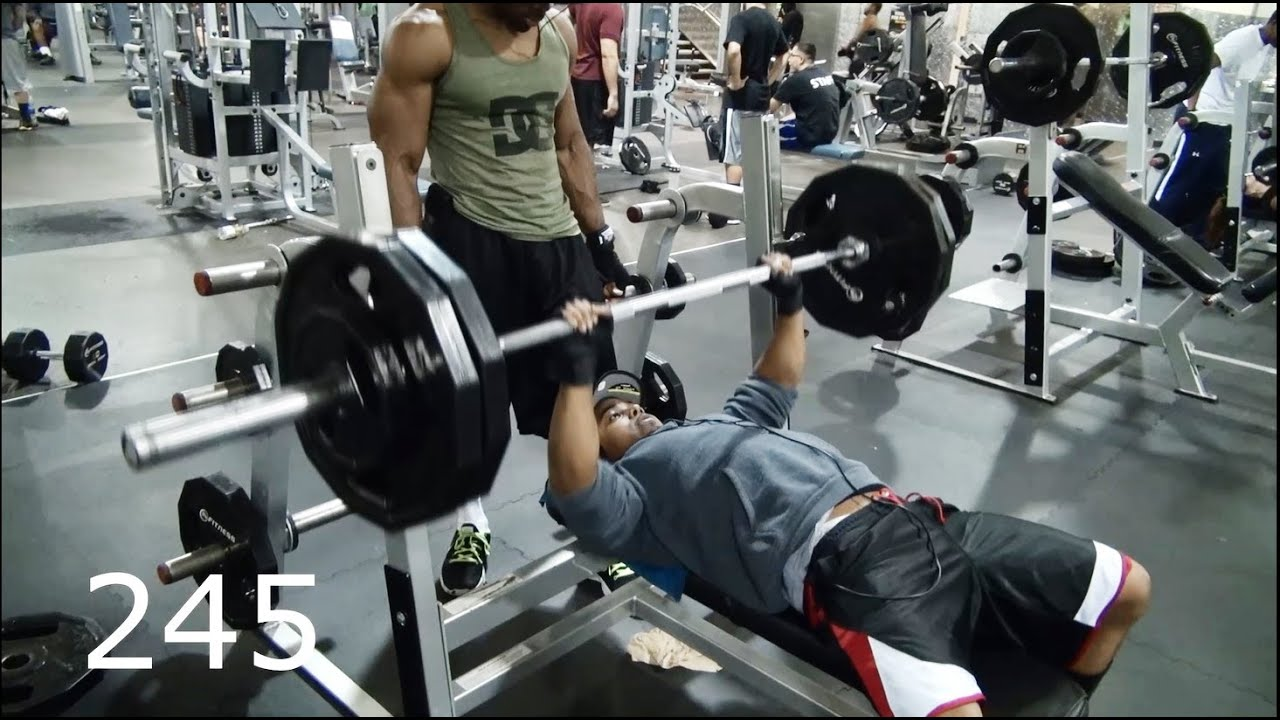 Heavy Bench press Training to hit 300 pounds! - YouTube