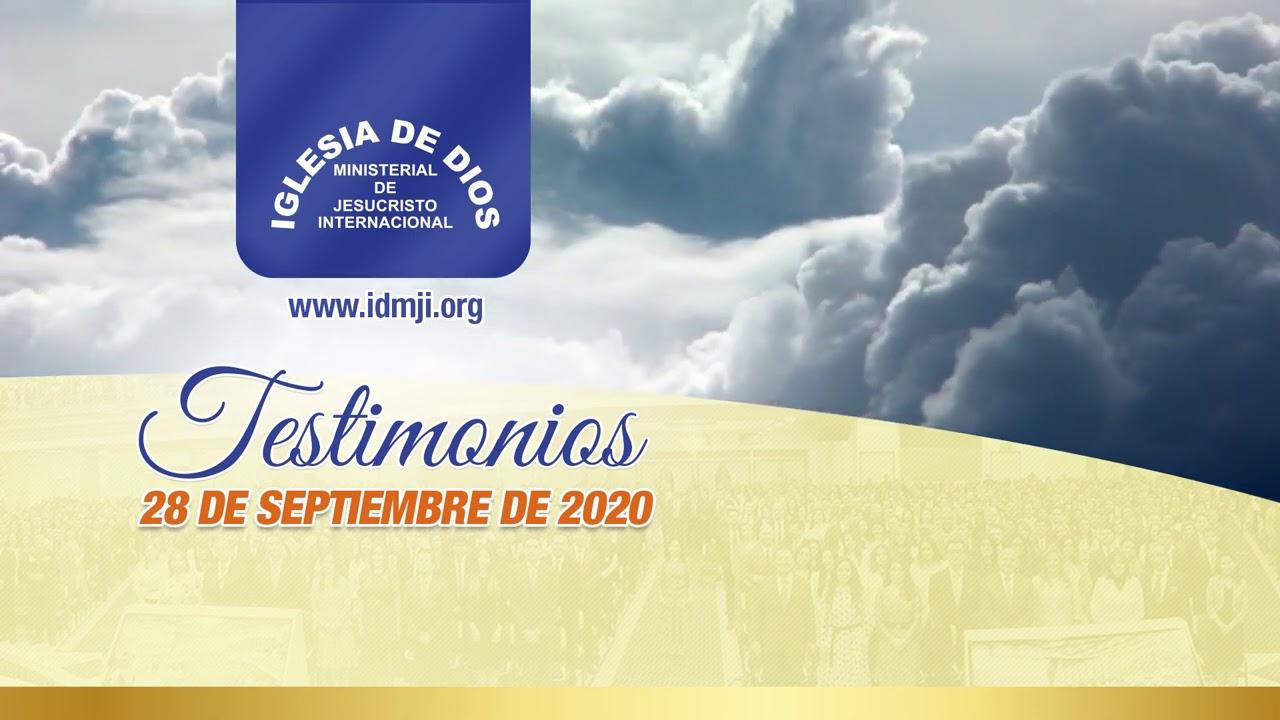Testimonios 28 de septiembre de 2020 - México y Perú