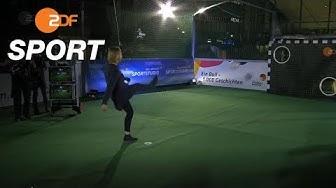 Sensationell! Inka Grings trifft fünfmal an der Torwand | das aktuelle sportstudio - ZDF