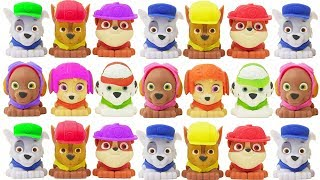 paw patrol mashems and fashems learn colors