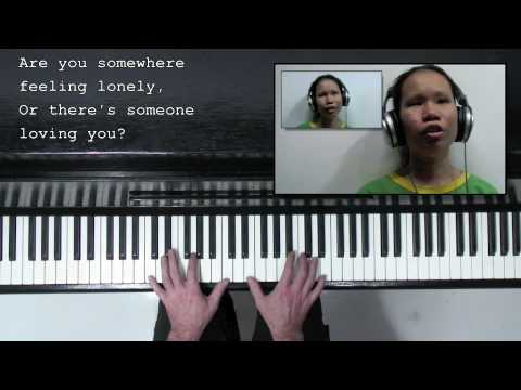 'Hello' - Lionel Richie -  (voice, piano & sing-along)