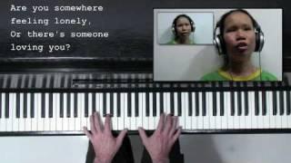 'Hello' - Lionel Richie -  (voice, piano & sing-along)