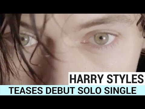 Harry Styles Teases Debut Solo Single!