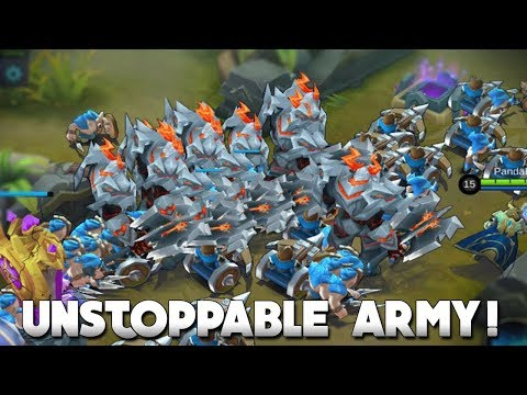 I MADE A LORD ARMY! | Mobile Legends