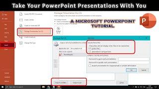 CD / DVD / USB veya Klasör | Öğretici 2016 PowerPoint Sunumu Kurtarmak İçin nasıl