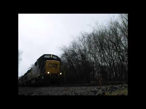 CSX southbound freight Columbia, TN
