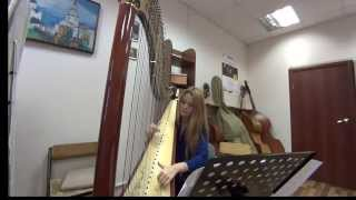 Арфа - Celine Dion - My heart will go on - Titanic - James Horner - Harp Cover (кавер)