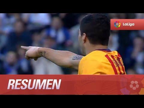 Resumen de Deportivo de la Coruña (0-8) FC Barcelona