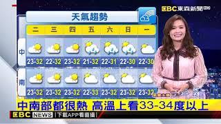 氣象時間 1080422 晚間氣象 東森新聞