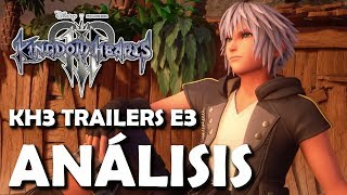 Kingdom Hearts 3 Trailers E3 2018 – Análisis y Detalles ocultos (Español)