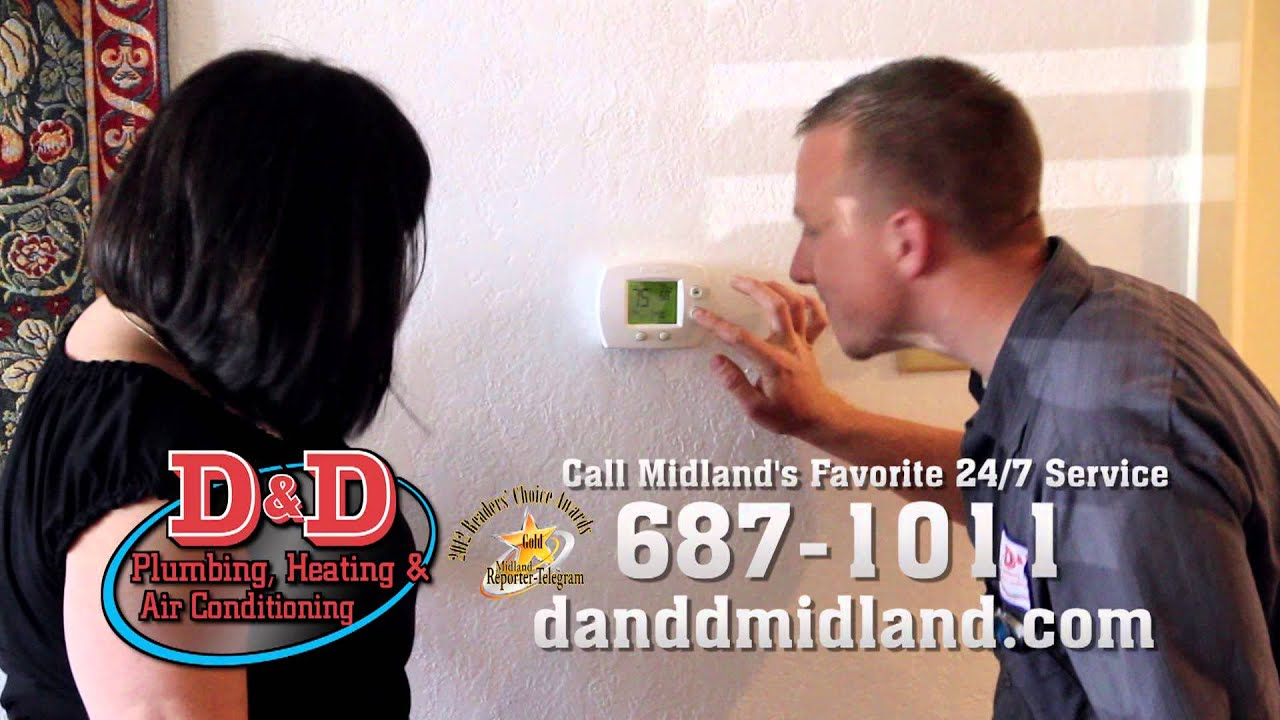 D D Plumbing Heating Air Conditioning Beat The Heat Youtube