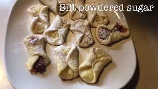 Kolaczki - Polish Christmas Cookies Recipe - Przepis na Polskie Świąteczne ciastka.