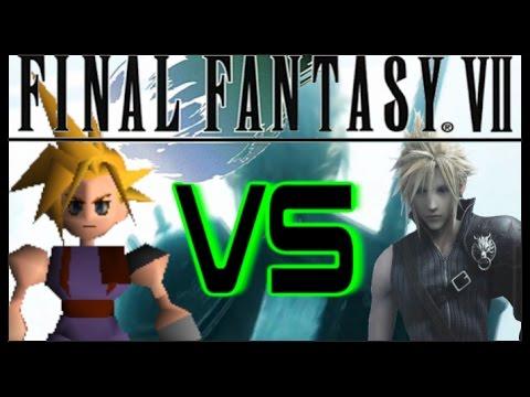 final fantasy vii graphics comparison ps1 vs ps4 video