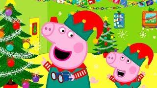 Свинка Пеппа на русском все серии подряд | Новогоднее настроение | Мультики