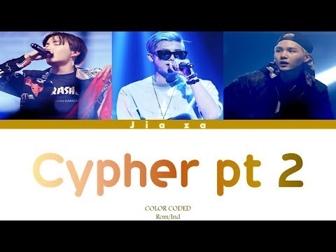 BTS 'CYPHER PT 2 : Triptych' (Sub indo)Lirik {Color Coded-Rom-Ind}