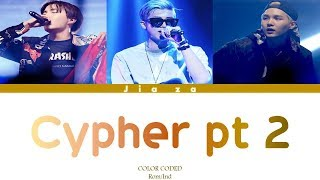BTS 'CYPHER PT 2 : Triptych' (Sub indo)  Lirik {Color Coded-Rom-Ind}