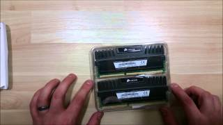 CORSAIR Vengeance DDR3 1866 - How To Build PC Gaming - Unboxing