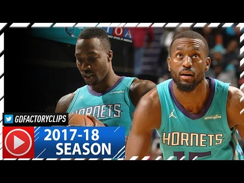 Kemba Walker & Dwight Howard Full Highlights vs Clippers (2017.11.18) - 42 Pts Total