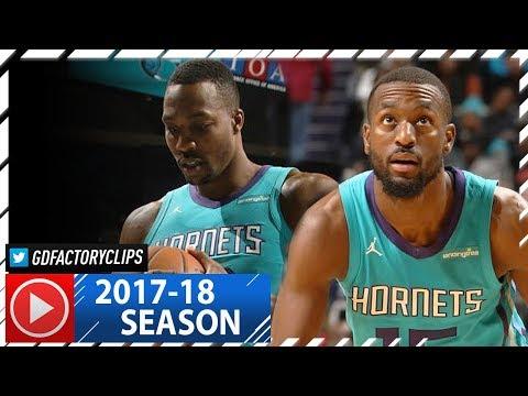 Kemba Walker & Dwight Howard Full Highlights vs Clippers (2017.11.18) - 42 Pts Total