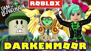 NEVERMORE DARKENMOOR!! (Roblox with G-Dad and SallyGreenGamer!)