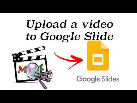 Upload MP4 video files into a Slide on Google Slides