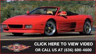1990 Ferrari 348TS Cabriolet || SOLD