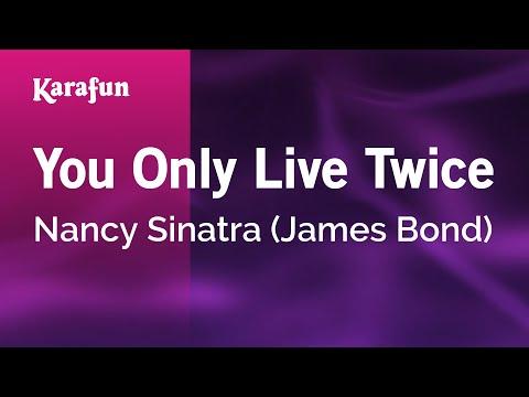 Karaoke You Only Live Twice - Nancy Sinatra *