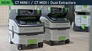 Festool CT Dust Extractors: New CT Mini/Midi I