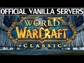 Official Vanilla Servers Announced For World of Warcraft