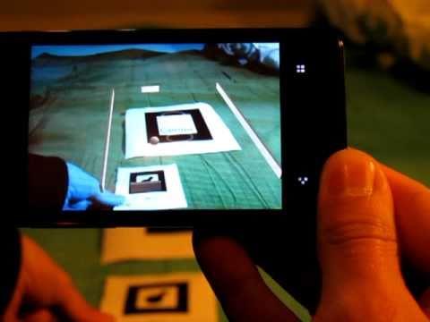 Meizu M9 Erweiterte Realität augmented reality