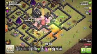 Clash of Clans - 3star GoWiHog attacks by Shadow - VOL2