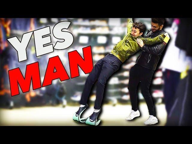 DIRE OUI À TOUT PENDANT 24H (Yes Man Challenge #2 feat. HUGOPOSAY)