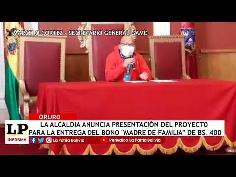 La Alcaldía anuncia presentación del p...