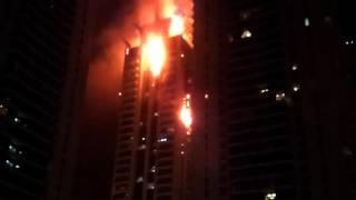 Пожар на небоскребе в Дубае(, 2015-10-05T10:13:06.000Z)