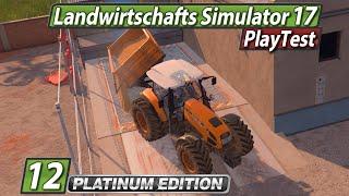 LS17 Platinum 🚜 Ernte Verkauf Stroh und Co. ► #12 Landwirtschafts Simulator 17 deutsch PlayTest