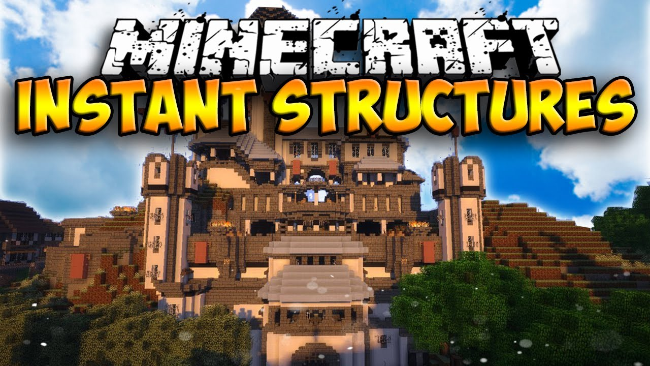 Instant Massive Structures 2 Mod For Minecraft 1 12 2 1 11 2