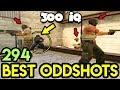 300 IQ SNEAKY BEAKY PLAY ! - CS:GO BEST ODDSHOTS #294