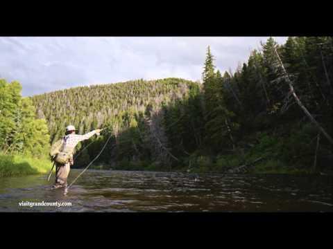 Fishing in Grand County, Colorado