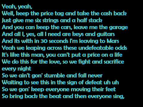 Price Tag - Jessie J ft. B.o.B. (Lyrics)