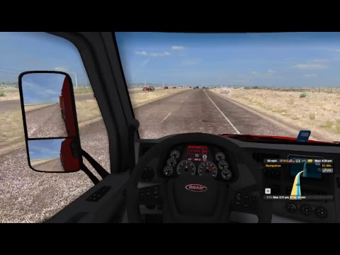American Truck Simulator- Hello first live stream on this new computer!!