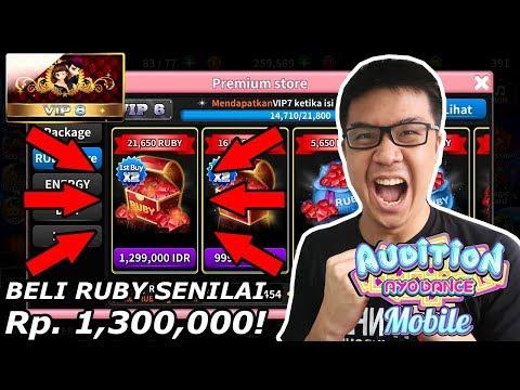 BELI RUBY SEHARGA 1,3 JUTA RUPIAH! - AyoDance Mobile (Indonesia)