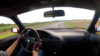 Driving around in the Mazda MX6 V6